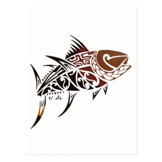 Tuna Postcard