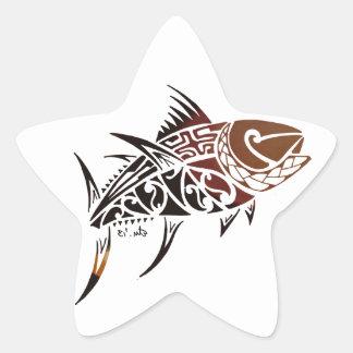 Tuna Star Sticker