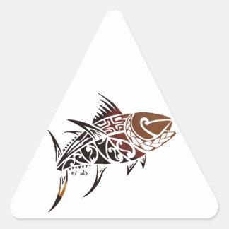 Tuna Triangle Sticker