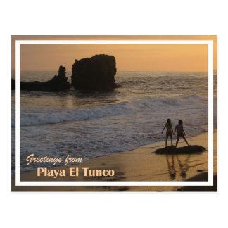 Tunco Postcard - 2 Girls