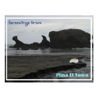 Tunco Postcard - Black Beauty