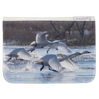 Tundra Swan Birds Wildlife Animals Kindle Case
