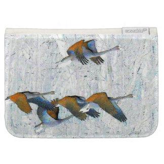 Tundra Swan Birds Wildlife Animals Kindle Folio Cases