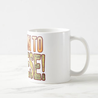 Tune In Blue Cheese Coffee Mug
