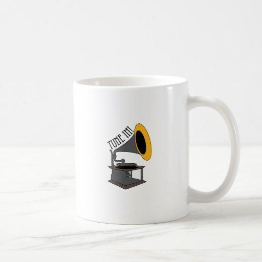 Tune In! Coffee Mugs