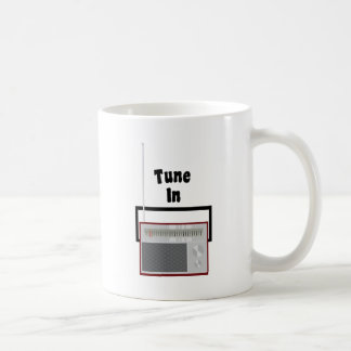 Tune In Coffee Mug