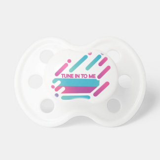 Tune-in-to-me Pacifier