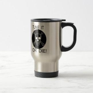 Tune It Or Die Circle Skull Stainless Steel Mug