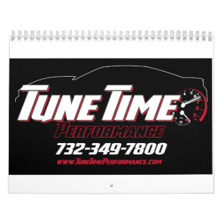 Tune Time Performance custom calendar! Wall Calendars