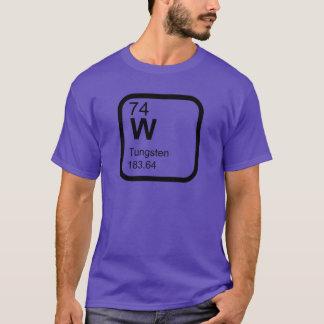 Tungsten - Periodic Table science design T-Shirt