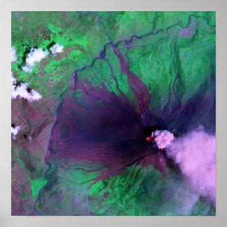 Tungurahua Volcano in Ecuador Poster