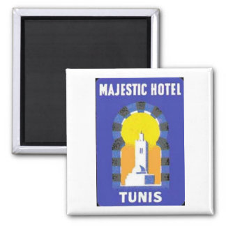 Tunis Majestic Hotel Magnet