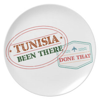 Tunisia Been There Done That Party Plates