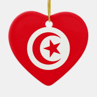 Tunisia Ceramic Heart Ornament