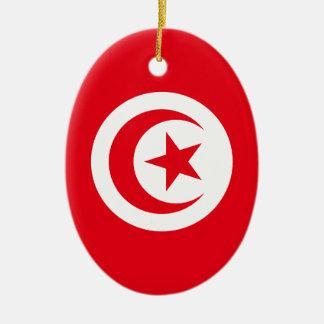 Tunisia Ceramic Oval Ornament