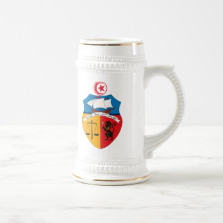 Tunisia Coat of Arms Mug