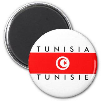 tunisia country flag name text symbol tunisie magnet