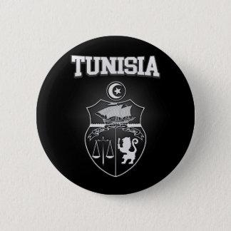 Tunisia Emblem 2 Inch Round Button