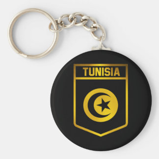 Tunisia Emblem Keychain