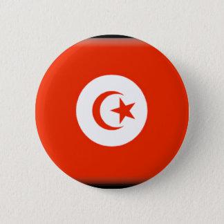 Tunisia Flag 2 Inch Round Button