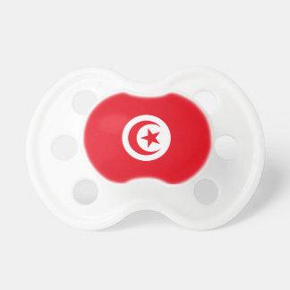 Tunisia Flag Booginhead Pacifier