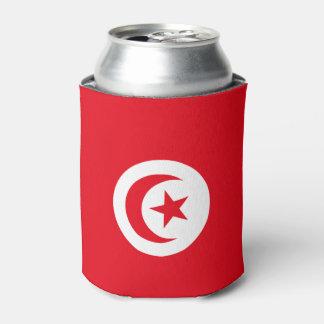Tunisia Flag Can Cooler