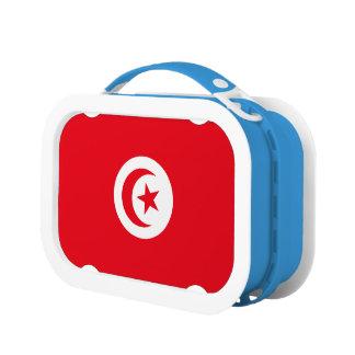 Tunisia Flag Lunch Box
