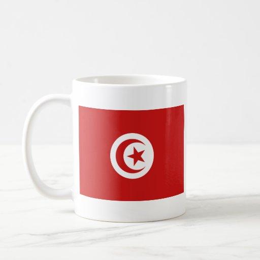 Tunisia Flag ~ Map Mug