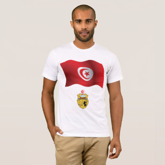 Tunisia Flag Mens T-Shirt