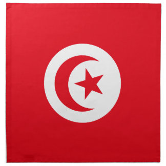 Tunisia Flag Napkins