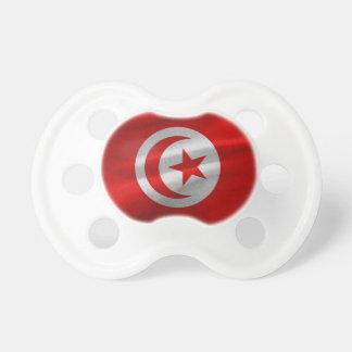Tunisia Flag Pacifier