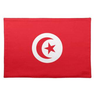 Tunisia Flag Placemats