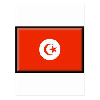 Tunisia Flag Postcard