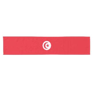 Tunisia Flag Short Table Runner