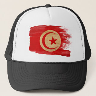 Tunisia Flag Trucker Hat