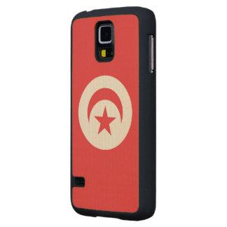Tunisia Flag Maple Galaxy S5 Case