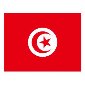 Tunisia National World Flag Postcard