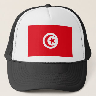 Tunisia National World Flag Trucker Hat