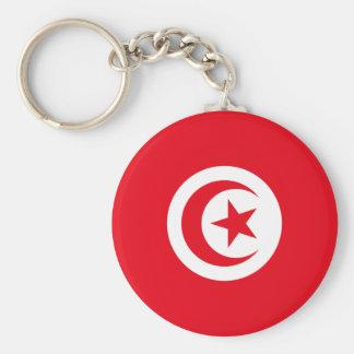 Tunisia TN Keychain