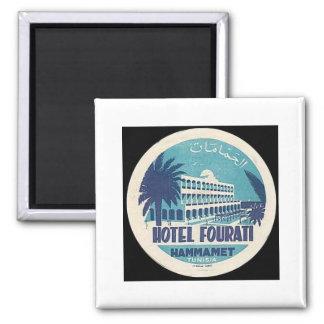 Tunisia Vintage Hotel Fourati Hammamet Magnet