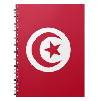 Tunisian flag notebooks