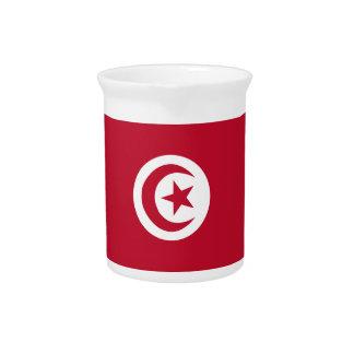 Tunisian flag pitcher