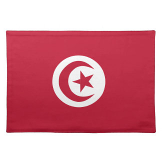 Tunisian flag placemat