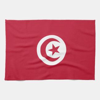 Tunisian flag towels