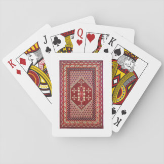 Tunisian traditional carpet Playing Cards