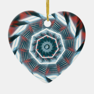 Tunnel Abstract Ceramic Ornament