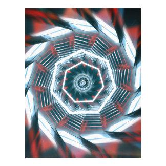 Tunnel Abstract Letterhead