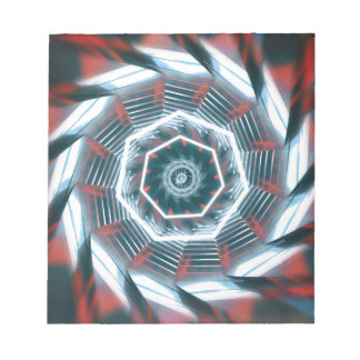 Tunnel Abstract Notepad