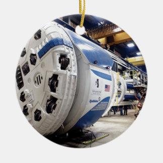 Tunnel Boring Machine Ceramic Ornament