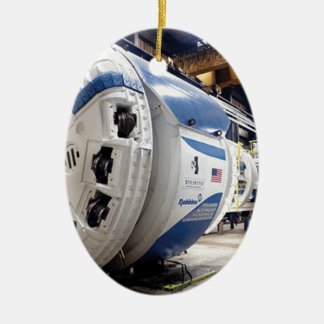 Tunnel Boring Machine Ceramic Ornament